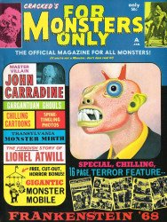 Major Magazines's Cracked's For Monsters Only Issue # 6