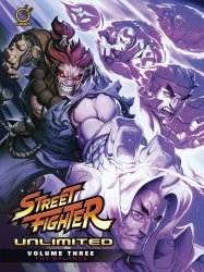 UDON Entertainment's Street Fighter Unlimited Hard Cover # 3