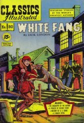 Gilberton Publications's Classics Illustrated #80: White Fang Issue # 3