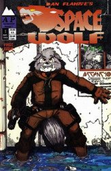 Antarctic Press's Space Wolf Issue # 1