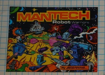 Remco Industries's Mantech Robot Warriors: Remco Mini-Comic Issue nn