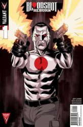 Valiant Entertainment's Bloodshot Reborn Issue # 1borderland