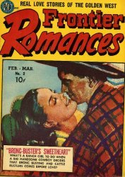 Avon Periodicals's Frontier Romances Issue # 2