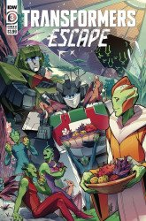 IDW Publishing's Transformers: Escape Issue # 3b