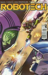 Titan Comics's Robotech Issue # 15