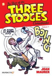 Papercutz's Best of the Three Stooges Hard Cover # 1