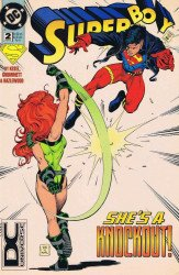 DC Comics's Superboy Issue # 2b