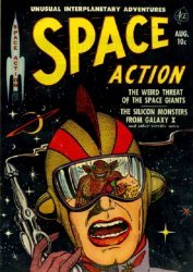 Ace Magazines's Space Action Issue # 2