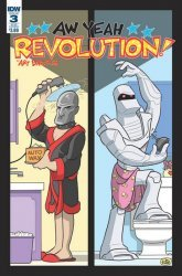 IDW Publishing's Revolution Aw Yeah! Issue # 3sub
