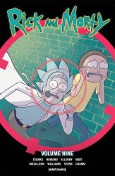 Oni Press's Rick and Morty TPB # 9