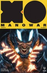 Valiant Entertainment's X-O Manowar TPB # 4