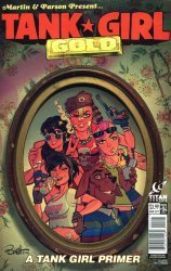 Titan Comics's Tank Girl: Gold Issue # 4b