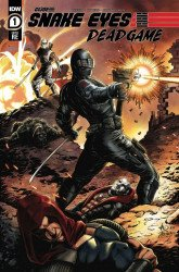 IDW Publishing's Snake Eyes: Deadgame Issue # 1comvau-a