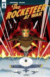IDW Publishing's Rocketeer At War Issue # 4