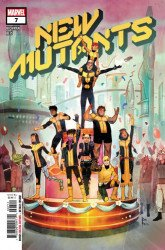 Marvel Comics's New Mutants Issue # 7