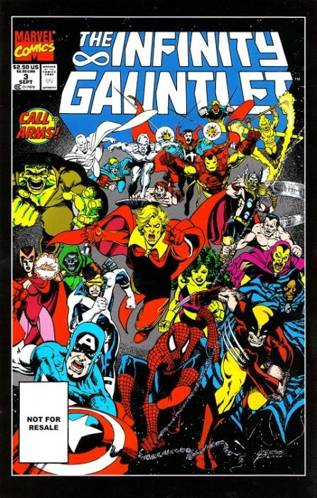 the infinity gauntlet issue 3 marvel comics