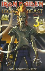 Heavy Metal's Iron Maiden: Legacy Of The Beast - Night City Issue # 3