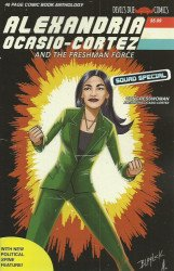 Devil's Due Publishing's Alexandria Ocasio-Cortex And The Freshman Force Squad Issue # 1b