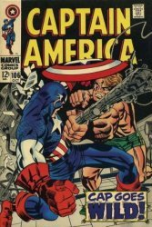 Marvel Comics's Captain America Issue # 106
