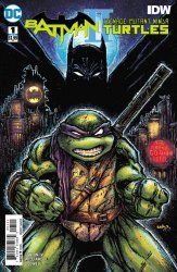 DC Comics's Batman/Teenage Mutant Ninja Turtles II Issue # 1b