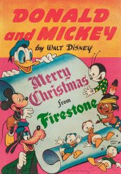 Disney Comics's Donald and Mickey: Merry Christmas Issue # 1944
