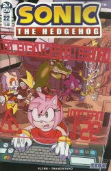 IDW Publishing's Sonic the Hedgehog Issue # 22