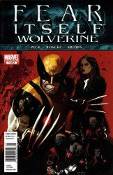 Marvel Comics's Fear Itself: Wolverine Issue # 1b