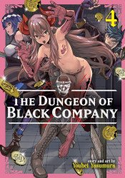Seven Seas Entertainment's The Dungeon Of Black Company Soft Cover # 4
