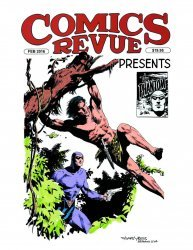 Manuscript Press's Comics Revue Presents Issue # 38
