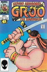 Epic Comics's Groo the Wanderer Issue # 1