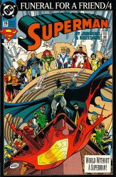 DC Comics's Superman Issue # 76