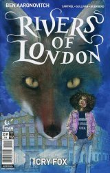 Titan Comics's Rivers of London: Cry Fox Issue # 2