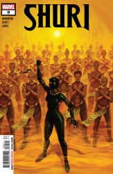 Marvel Comics's Shuri Issue # 9