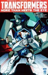 IDW Publishing's Transformers: More Than Meets the Eye Issue # 49