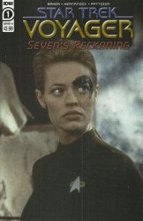 IDW Publishing's Star Trek Voyager: Seven's Reckoning Issue # 1b