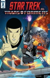 IDW Publishing's Star Trek vs Transformers Issue # 2b