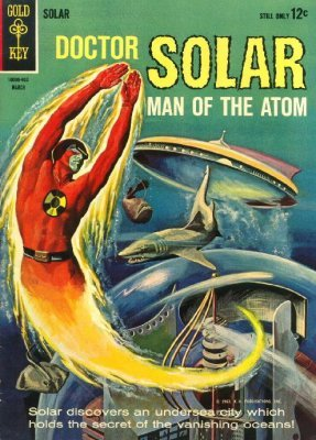 Doctor Solar Man of the Atom 12  Gold Key 1965