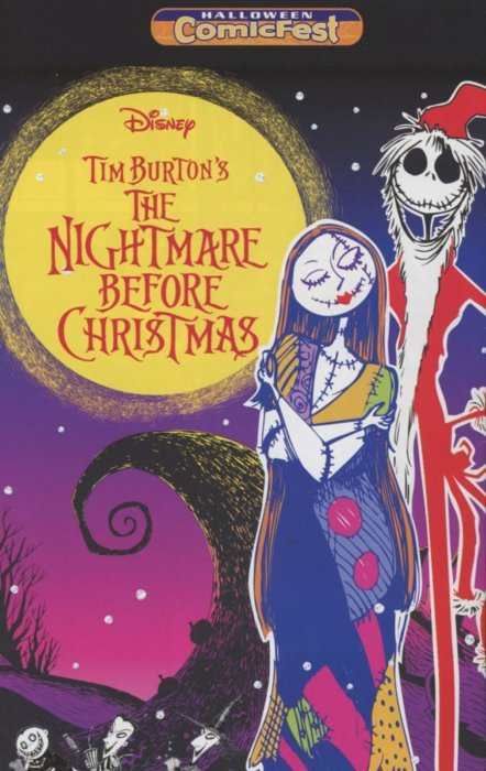 The Nightmare Before Christmas: The Manga - Halloween ComicFest 1 ...