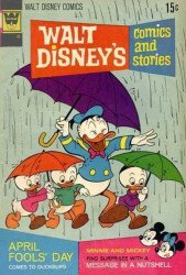 Gold Key's Walt Disney's Comics and Stories Issue # 380whitman