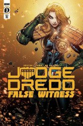 IDW Publishing's Judge Dredd: False Witness Issue # 3ri
