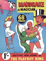 L. Miller & Son's Mandrake the Magician Issue # 12