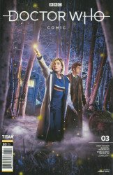 Titan Comics's Doctor Who Comic Issue # 3b