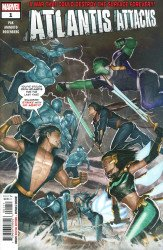 Marvel Comics's Atlantis Attacks Issue # 1