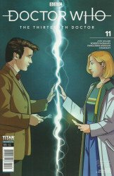 Titan Comics's Doctor Who: 13th Doctor Issue # 11c