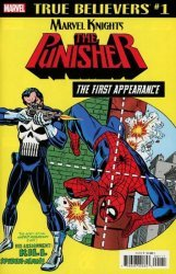 Marvel Comics's True Believers: Marvel Knights 20th Anniversary: Punisher - First Appearance  Issue # 1