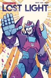 IDW Publishing's Transformers: Lost Light Issue # 13ri