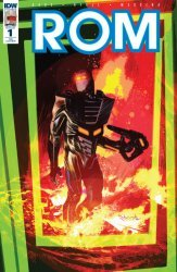IDW Publishing's ROM Issue # 1re-ultimate