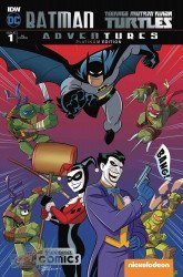 IDW Publishing's Batman / Teenage Mutant Ninja Turtles Adventures Issue # 1yesteryear-c