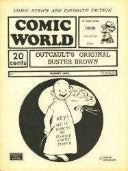 Memory Lane Publications's Captain George's Comic World Issue # 1