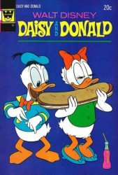Gold Key's Daisy and Donald Issue # 4whitman